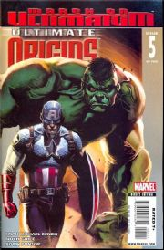 Ultimate Origins #5 (2008) Marvel comic book